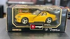Burago 1/18 1993 Dodge Viper RT/10 (221-9)