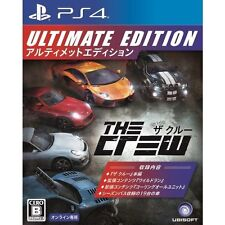 The Crew Ultimate Edition SONY PS4 PLAYSTATION 4 JAPANESE NEW JAPANZON