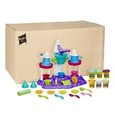 Play Doh Clay Toy Modeling Dough Ice Cream Castle Kids Craft Gift Cutter Set