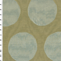 Silver/Beige Dot Jacquard Home Decorating Fabric, Fabric By The Yard