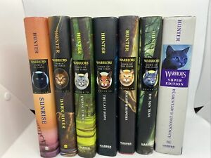 Warriors Cat Book Collection by Erin Hunter Omen Of The Stars + Power Of Three