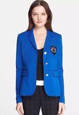 NWT! $695 SMYTHE School Boy Wool Duchess Blazer Jacket Sz UK 8 U.S 4/6