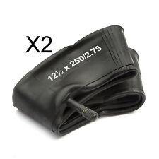 2 Minimoto Moto-Cross Intérieur Tube 12.5x2.5 Dirtbike 12 1/2 X 2 1/4 49cc