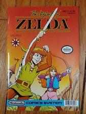 The Legend of Zelda #1 1990. Nintendo. Valiant comic. Beautiful High Grade