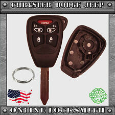 New Remote Key Replacement Case Shell + 5 Button Chrysler Dodge Jeep OHT692427AA