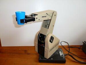 Microbot TeachMover Robot Arm (See Y-tube video)