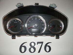 09 10 NISSAN  SENTRA SPEEDOMETER HEAD INSTRUMENT CLUSTER GAUGES PANEL 151K W6876