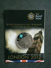 2009 London 2012 Olympic Games Big Ben £5 Five Pound Proof Coin Pack