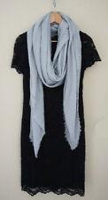 Oversize Soft Cotton Linen Ladies Blanket Scarves Wrap Shawl Vintage Light Grey