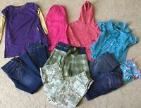 Girls 11pc Clothing Lot Justice Gymboree Boden Old Navy Abercrombie Size 8 - 10