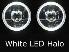 "5 3/4"" HALO HEADLIGHTS OPTIONAL PARK OR INDICATOR GLOBE FITTED MOTORBIKE HOLDEN"