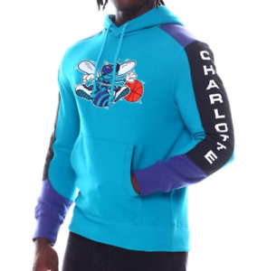 Charlotte Hornets Mitchell & Ness NBA Fusion Fleece Hoody