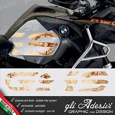 2 Adesivi Fianco Serbatoio BMW R 1200 gs adventure LC big 2016 World Old Map