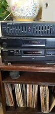 Vintage Kenwood Stereo And Equalizers  5 Disk Cd