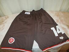 FC St.Pauli DoYou Football Matchworn Trikot Hose/Short 2012/13 + Nr.14 Gr.S- M