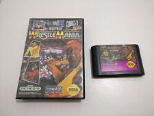 Super WrestleMania - SEGA - Megadrive - Boxed