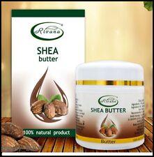 Rivana-Manteca de Karité 100% puro aceite de producto: 55ml Crema Humectante Natural Rostro Cuerpo