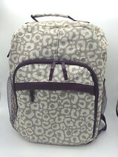 New Thirty one organizing backpack 31 gift laptop diaper book bag say it taupe