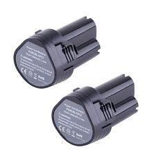 2X 10.8 Volt Li-ion Battery for Makita BL1013 194551-4 194550-6 O3U3