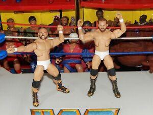 The Revival Dash Wilder Scott Dawson Custom Mattel Elite Wrestling Figure Lot