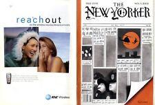 NEW YORKER MAGAZINE 3 NOV 2003, THE POPES TENURE MIDGE AND RUMMY, TINA FEY,