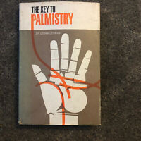 Leona Lehman, Murray Kershner THE KEY TO PALMISTRY  1st Edition 1st Printing