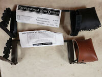 Great Northern Adjustable Bow  Quiver with Rubber strap on mounts