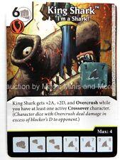 "Green Arrow Flash ~ KING SHARK ""I'm a Shark!"" #102 rare DC Dice Masters card"