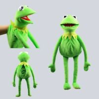 22'' Full Body Kermit the Frog Hand Puppet Plush Toy Ventriloquism Party Prop