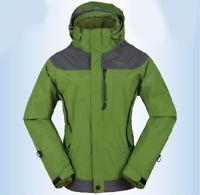 D56 Women Lady Green Ski Snow Snowboard Winter Waterproof Jacket 6 8 10 12 14