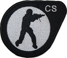 Counter Strike Badge Embroidered Patch Sew/Iron-on 3.5""
