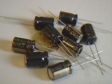 RFS-63V100MG3 6 pcs 10uF 63V ELNA SILMIC II AUDIO Capacitor bl NEU Kondensator