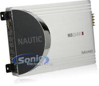 Boat Marine Amp MB Quart NAU460 4 channel 60 watt x 4 Speakers Amplifier New
