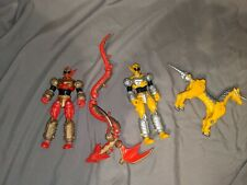 Power Rangers Mystic Force Red and Yellow Ranger Morph Figures