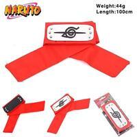Naruto Leaf Village Ninja Konoha Headband Uchiha Itachi Cosplay Headbands Red