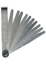 1x Tools - Spark Plug Tools - Draper - 10 Blade Feeler Gauge Metric