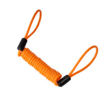 New 1.2M Wire Bicycle Lock Spring Reminder Anti-theft Lock Rope for Motorcy