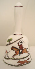 Coalport Bone China Hunting Scenes Bell Hunt Scene Horse Fox