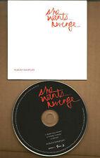 Justin Warfield SHE WANTS REVENGE 3 Trx CARDED Samper UK Made PROMO DJ CD single