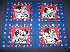 Bolt of 101 Dalmatians Cushion Panels Cotton Quilting Fabric (60 Panels)