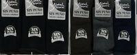 3 Pares de calcetines socks sin puño y sin costura Isabel Mora 80% Algodón-
