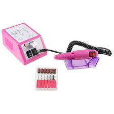 Pro Electric Acrylic Manicure Pedicure Drill File Tool Nail Art Pen Machine Set