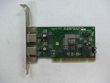 USB Ports PCI Card For DeskTop Computer Scrap Gold Fingers