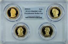 2010-S PRESIDENTIAL DOLLARS MULTI-COIN SET PCGS PR69DCAM