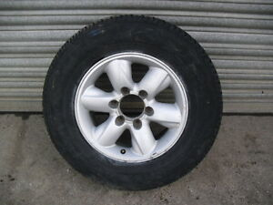 4WD Alloy Wheel and tyre