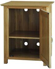 Bryson solid oak furniture office printer storage cupboard