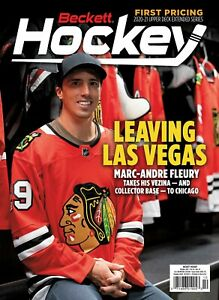 New OCTOBER 2021 Beckett HOCKEY CARD PRICE GUIDE Magazine with MARC-ANDRE FLEURY
