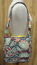 Vera Bradley Nomadic Floral Fabric Mailbag Messenger Purse NWT