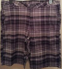 "Mid 7 to 13"" Inseam Check Regular Shorts Bermudas for Men"