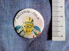 Biglie ciclisti, palline corridori figurina interna anni 90 BALLERINI ITALIA